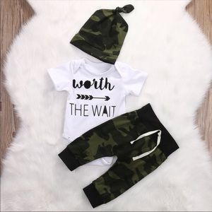Other - Worth The Wait Camo Set